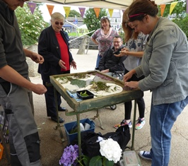Well dressing activity on offer on the day